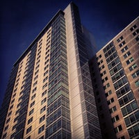 Photo taken at Boston University Student Village Two by David G. on 5/16/2012