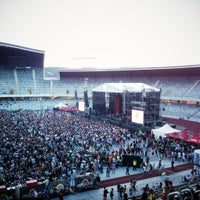 Photo taken at Cluj Arena by Lorant P. on 7/19/2012