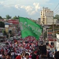 Foto tomada en Reloj De Las 3 Caras por Alejandra R. el 6/24/2012