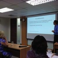 Photo taken at Mae Fah Luang University @ Sathorn by Pornsak T. on 9/10/2012