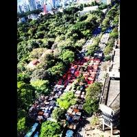 Photo taken at Feira de Artes e Artesanato de Belo Horizonte (Feira Hippie) by Felipe O. on 5/27/2012