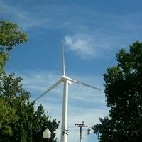 Photo taken at MidAmerican Energy Wind Turbine & Education Center by Maureen G. on 8/17/2012