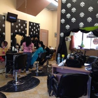Photo taken at Bella Vita Salon by Alicia R. on 4/19/2012