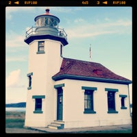 Photo taken at Point Robinson Lighthouse by Michael W. on 4/15/2012