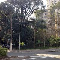 Photo taken at Praça Vilaboim by Thiago F. on 6/17/2012