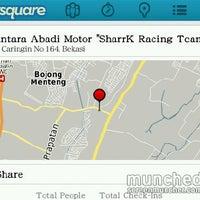 """Photo taken at Nusantara Abadi Motor """"SharrK Racing Team"""" by Lukas H. on 3/1/2012"""