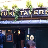Photo taken at The Turf Tavern by Matthew W. on 7/22/2012