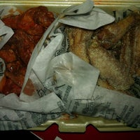 Photo taken at Wingstop by Ricky W. on 3/2/2012