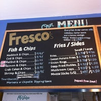 Photo taken at Fresco's Fish & Chips by Marc d. on 3/11/2012