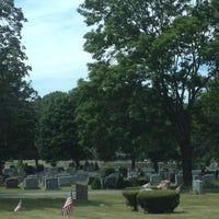 Photo taken at Mountain View Cemetery by Angela on 8/8/2012