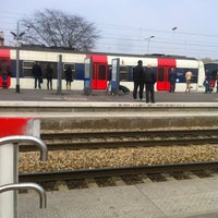 Photo taken at Aulnay-sous-Bois Railway Station by Kayser K. on 4/6/2012