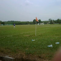 Photo taken at Padang Bola Sepak RRI by Mohd I. on 3/11/2012