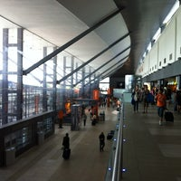 Photo taken at Terminal B by Mauricio G. on 5/11/2012