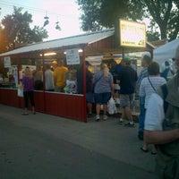 Photo taken at Iowa Pork Tent by Marni O. on 8/18/2012
