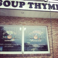 Photo prise au Soup Thyme par Marissa le2/22/2012