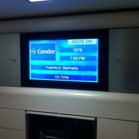 Photo taken at Gate D3 by Sascha R. on 4/23/2012
