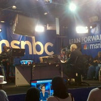 Photo taken at MSNBC Broadcast Stage at Channelside by Johnny L. on 8/30/2012
