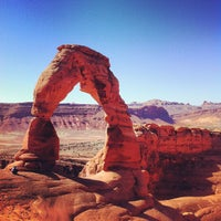 Photo taken at Arches National Park by Zied B. on 9/1/2012
