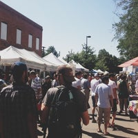 Photo taken at Boulder Farmers' Market by Jamie S. on 6/23/2012