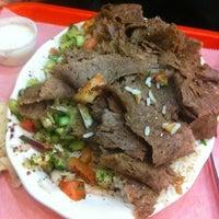 Photo taken at Bereket Turkish Kebab House by Cesar R. on 3/30/2012
