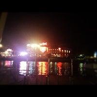 Photo taken at CityWalk Water Taxi by Tomoko J. on 3/16/2012