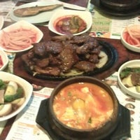 Photo taken at BCD Tofu House by Jo J. on 6/25/2012