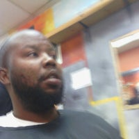 Photo taken at Tight Image Barber Shop by Tavon C. on 6/5/2012