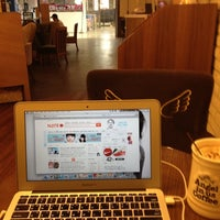 Photo taken at Angel-in-us Coffee by SeungJun L. on 3/9/2012