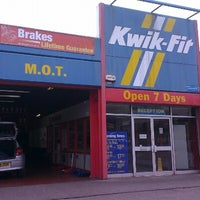 Photo taken at Kwik Fit by Ray M. on 9/4/2012