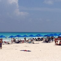 Photo taken at Playa Marlin by Edgar M. on 8/3/2012