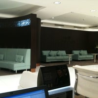 Photo taken at AUH T3 First Class Check-In by Joseph O. on 7/23/2012