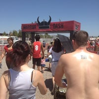 Photo taken at Warrior Dash Arizona by Anne N. on 4/28/2012