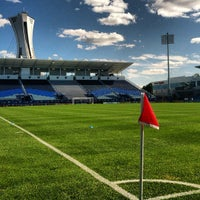 Photo taken at Stade Saputo by Major League Soccer on 7/8/2012