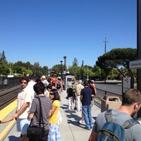 Photo taken at California Ave Caltrain Station by Eric S. on 5/20/2012