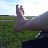 Photo taken at Tempelhofer Park by Svenja S. on 7/23/2012