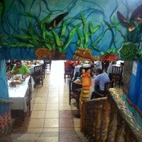 Photo taken at Mariscos Puerto De Alvarado by Victor R. on 4/14/2012