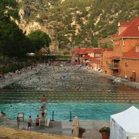 Photo taken at Glenwood Hot Springs by Mary M. on 7/1/2012