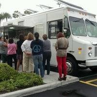 Photo taken at Crepes Bonaparte Truck by k k. on 7/13/2012
