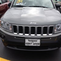 Photo taken at Goldstein Chrysler Jeep dodge by Gregory G. on 9/4/2012