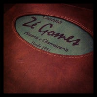 Photo taken at Cantina Zé Gomes by Gutto F. on 7/9/2012