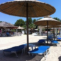 Photo taken at Mango Beach Bar by Aleksandar A. on 7/5/2012