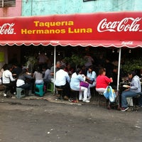 Photo taken at Taqueria Hermanos Luna by Eduardo C. on 2/16/2012