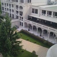 "Photo taken at Grand Hotel & Spa ""Primoretz"" by Danny R. on 5/6/2012"