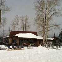 Photo taken at Lynn Britt Cabin by Lindsy F. on 2/10/2012