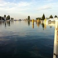 Photo taken at Romanshorn Hafen by Stefan H. on 7/18/2012