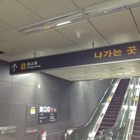 Photo taken at Hongik Univ. Stn. by HandsWorks가죽공방 on 5/21/2012