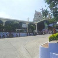 Photo taken at Ardhananeereswar Temple by Singarravel O. on 8/13/2012