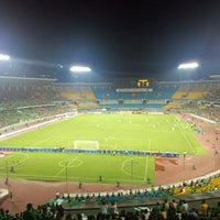 Photo taken at Workers Stadium by Yuwei Z. on 8/1/2012