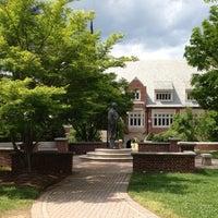 Photo taken at University of Richmond by Ann F. on 4/21/2012