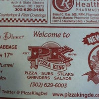 Photo taken at Pizza King by Chris N. on 3/12/2012
